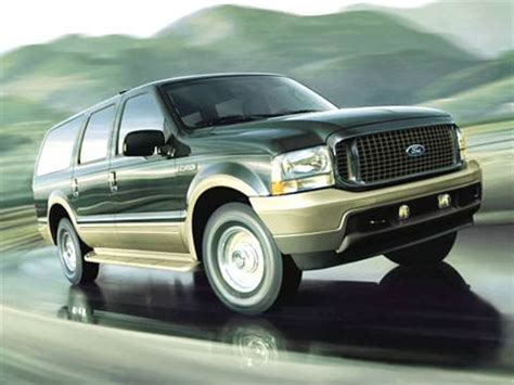 kelley blue book classic cars 2002 ford excursion electronic valve timing 2003 ford excursion pricing ratings reviews kelley blue book