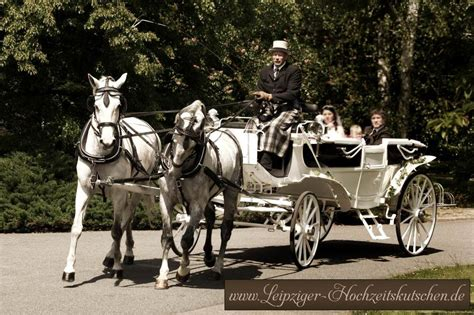 Kutsche Hochzeit by Hochzeitskutschen Markkleeberg Sachsen