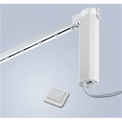 electric curtain track silent gliss autoglide 5100b wall switch electric curtain