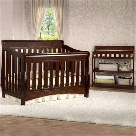 Delta Bentley 4 In 1 Convertible Crib Chocolate Delta Bentley 2 Nursery Set Convertible Crib And Changing Table In Chocolate Free Shipping