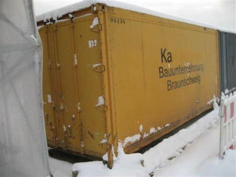 Container Günstig Kaufen by Gebrauchter Seecontainer Zu Verkaufen Bauunternehmen