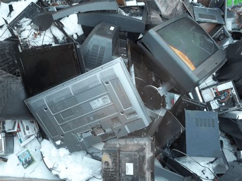 electronics recycling pick  recycling center