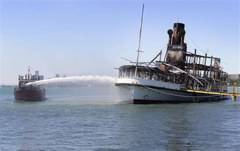 boblo boat the latest welding may have sparked fire on boblo boat