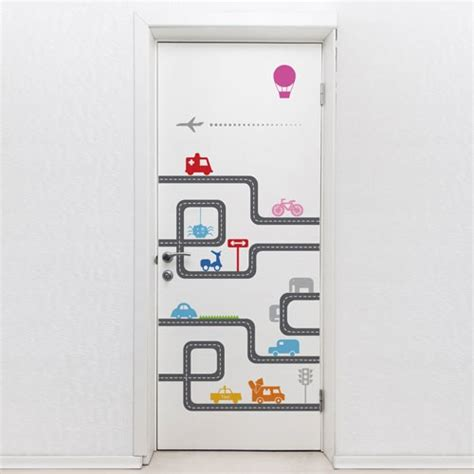 Door Decal by Door Decal Door Road Door Decorations
