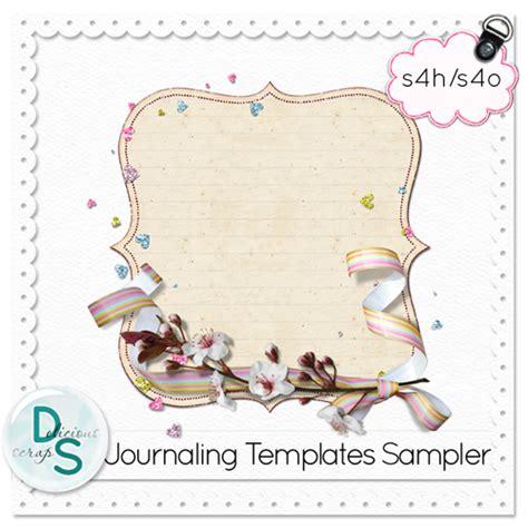 scrapbook journaling templates journaling templates