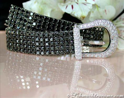 Terrific Black & White Diamond Belt Bracelet » Juwelier Schmucktraeume.com