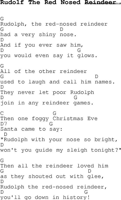 Christmas Songs Chords For Guitar