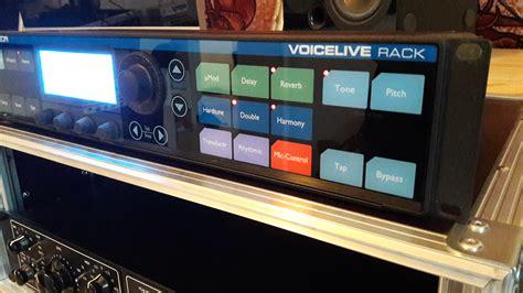 Rack Vocal Processor by Tc Helicon Voicelive Rack Image 1675064 Audiofanzine