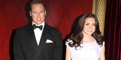 Luca Kid Ungu wow patung lilin pangeran william dan kate middleton