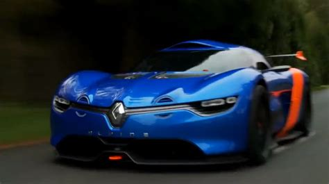 alpine renault a110 50 renault alpine a110 50 concept hits the track autoevolution