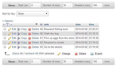 date format mysql phpmyadmin how to build a simple to do list with php ajax matt