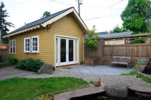 small backyard house the piedmont cottage a tiny backyard cottage in portland