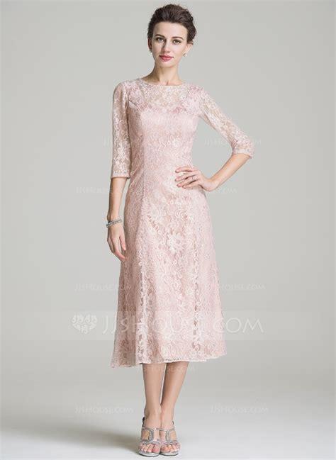 mother   bride dresses tea length lace  bb