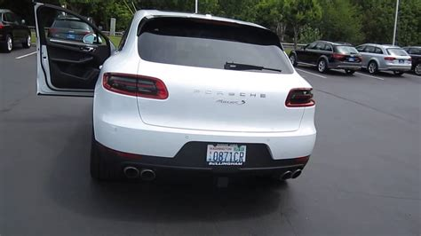 2015 Porsche Macan S White Wallpaper 1280x720 22431