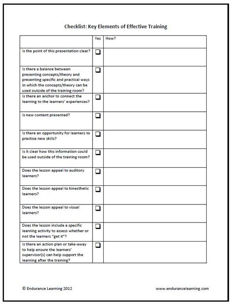 observation checklist template best photos of checklist template employee