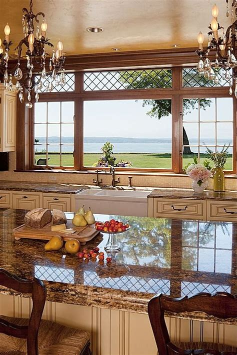 View Kitchen Designs by 38 Awesome Kitchen Designs With A View Digsdigs