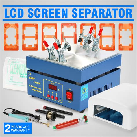 220v Silicon Heater Lcd Screen Separator Repair Tool Digital Display new lcd screen separator kit set touch screen repair tools for cell phone ebay