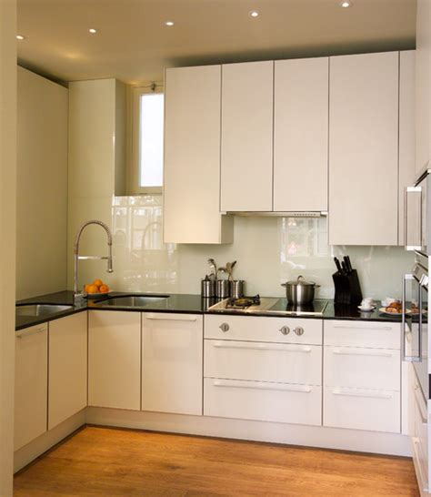 U Shape Kitchen Designs smart ways to make the most of a compact kitchen