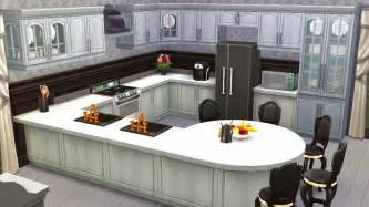 sims kitchen ideas sims 4 room black white kitchen sanjana sims