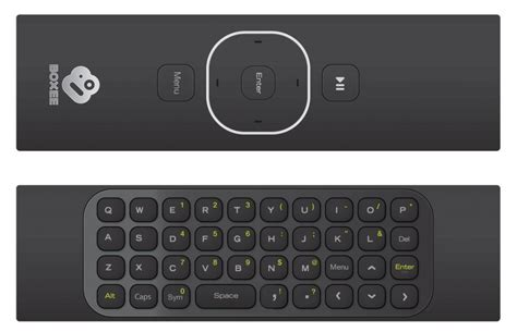 keyboard layout remote desktop boxee box gets official new qwerty remote revealed