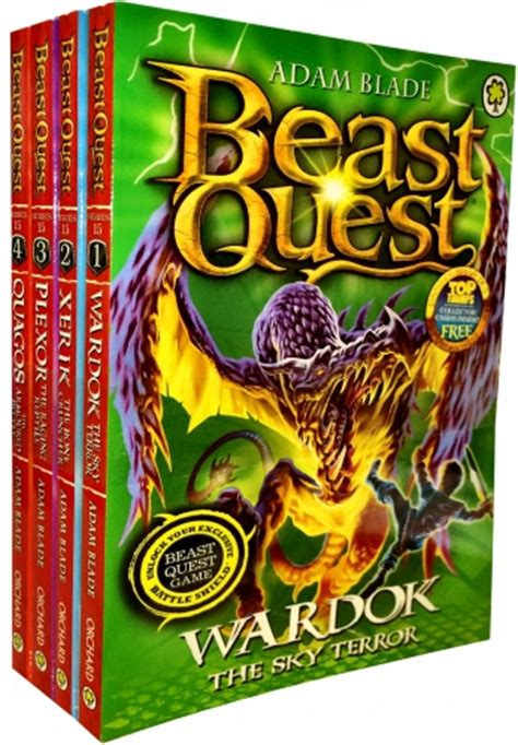 the complete okko books beast quest the complete series collection adam blade