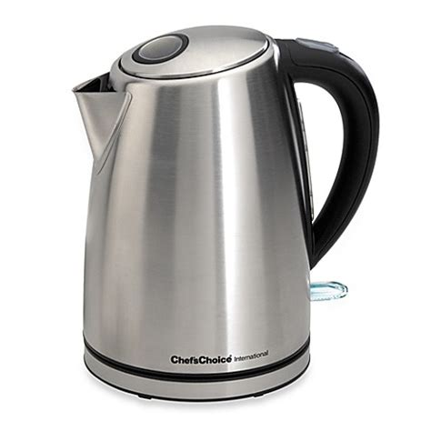 bed bath and beyond kettle chef schoice 174 international electric 1 3 4 quart kettle