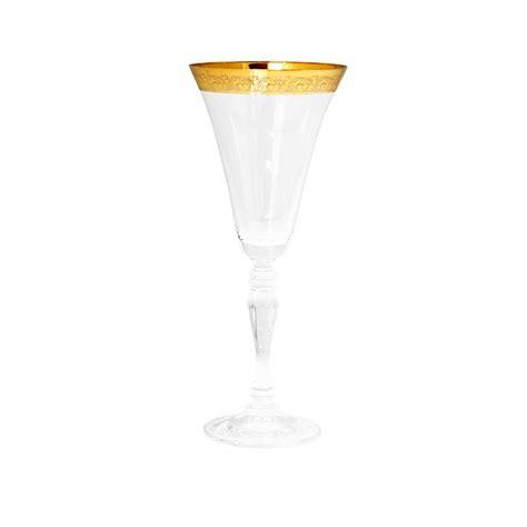 gold rim glassware wedding glassware caterhire dublin