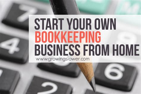 start business from home start a bookkeeping business from home with no experience