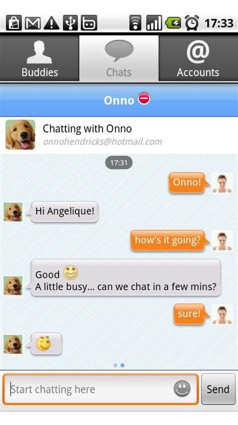 mobile msn messenger ebuddy messenger android app review ebuddy
