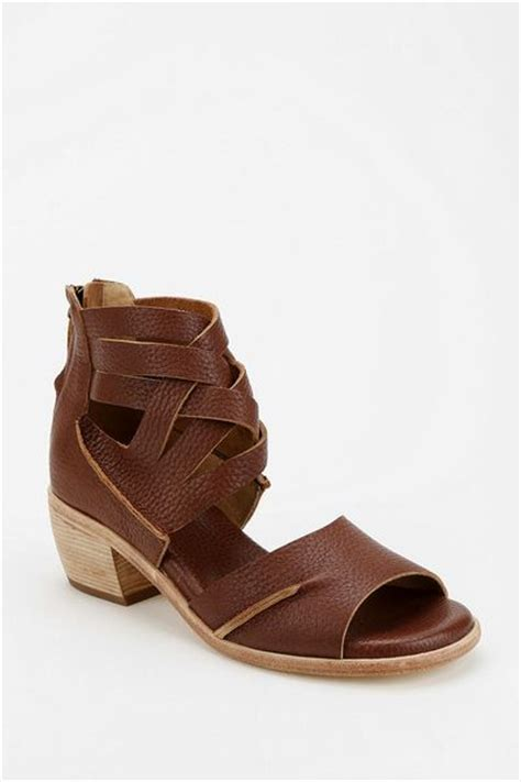 braided brown sandals outfitters geewawa braided leather sandal in brown