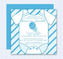 blue onesie baby shower invitation editable template