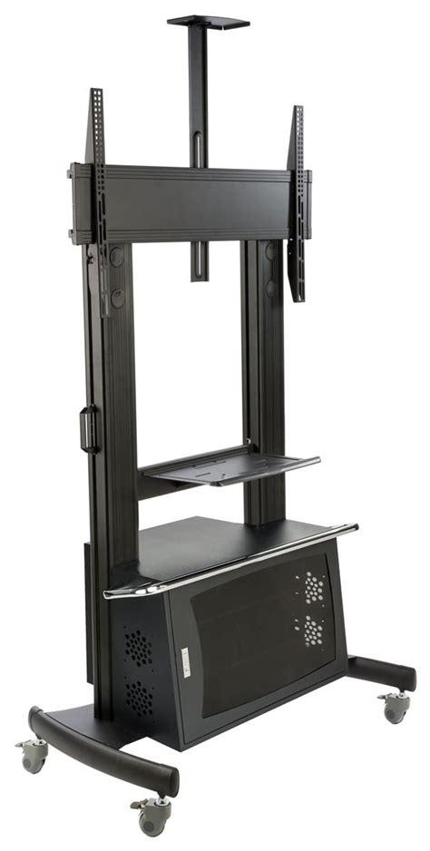 multimedia cart with locking multimedia cart tv stand with locking