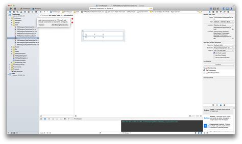 xcode layout tutorial xcode screen layout xcode 6 autolayouts stack overflow