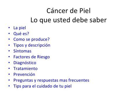 cancer de piel cancer de piel