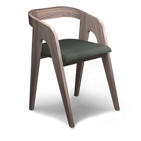 chaise designs the walnut chair salome audrey savelon meubles design
