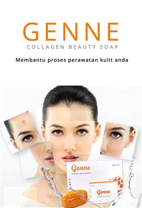 Genne Collagen Soap Genne Kolagen Soap Abe abe
