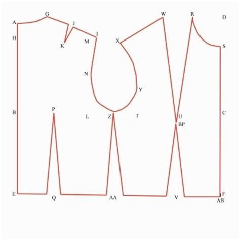 pattern drafting instructions bodice pattern drafting 101 drafting the basic bodice block