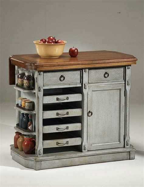 love this portable island kitchens pinterest island rustic kitchen island thinking drawers are wine racks