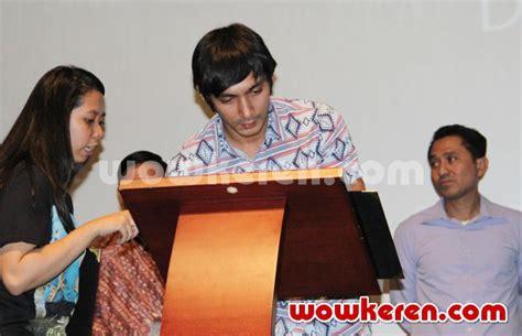 video film laskar pelangi 2 edensor foto abimana aryasatya di gala premiere film laskar