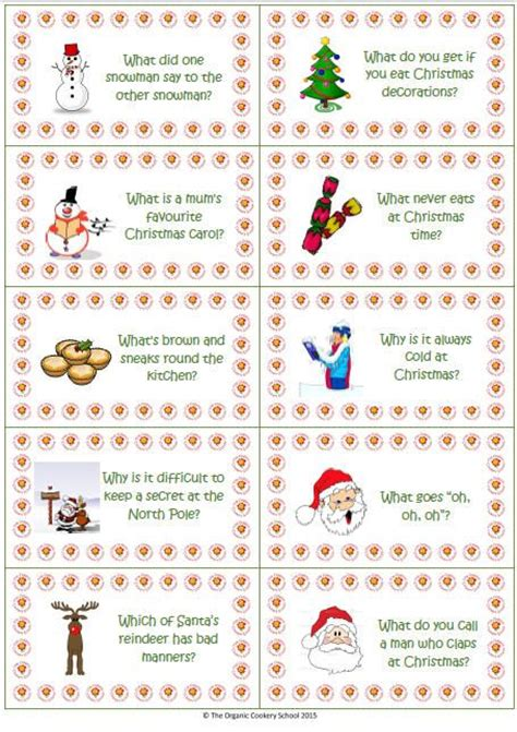 christmas cracker jokes to print free printable jokes to liven up december lunch boxes or fill crackers two