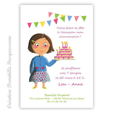 exemple invitation anniversaire anniversaire invitation