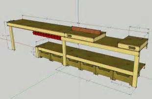 garage workbench design callsign ktf plans for a custom garage workbench