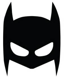 8 best images of batman mask template printable