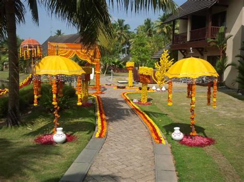 Muthukuda (Decorated umbrella) adds a tone of festivity to