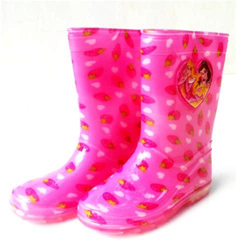 Sepatu Boots Anak Murah Lucu Biddo Mocca perlengkapan hujan sepatu boot anak karakter