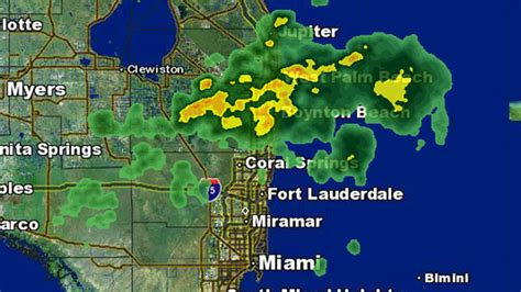 south florida weather map weather forecast drier conditions likely for south