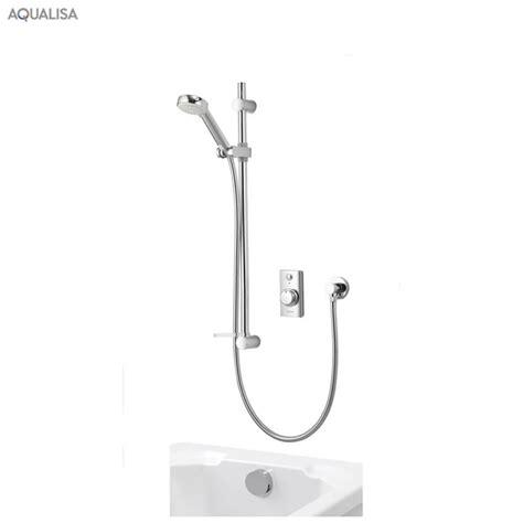 Concealed Electric Shower Aqualisa Visage Smart Concealed Shower With Bath Filler
