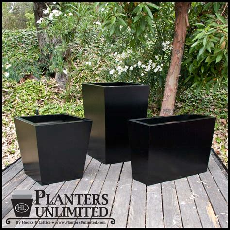 Modern Commercial Planters by Modern Tapered Fiberglass Commercial Planter 72in L X 72in