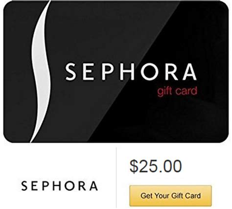 Sephora Gift Cards At Cvs - free 5 amazon credit wyb 25 sephora gift card