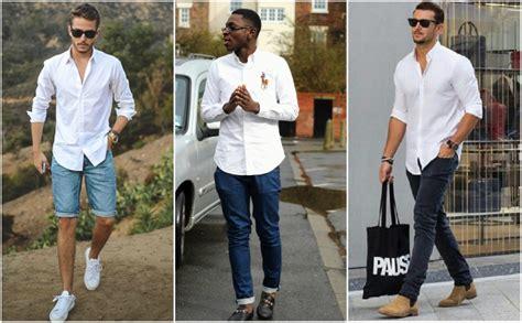 Pakaian Pria Casual Pakaian Pakaian Pria White Kombi Black Terlaris padukan celana pria dengan 6 atasan keren ini